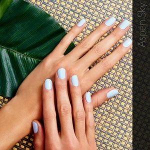 Color Street Makeup - 2/$20 Color street nails aspen sky pastel blue